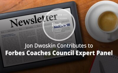 Jon Contributes to Forbes Coaches Council Expert Panel: Launching A Newsletter? Keep These 15 Important Tips In Mind