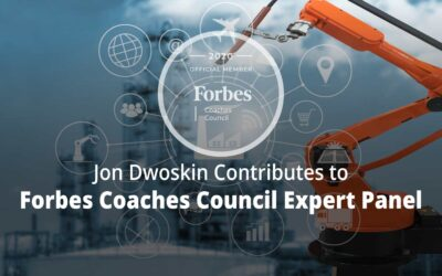 Jon Contributes to Forbes Coaches Council Expert Panel: How Will Automation Affect The Job Market? 15 Coaches Share Their Predictions