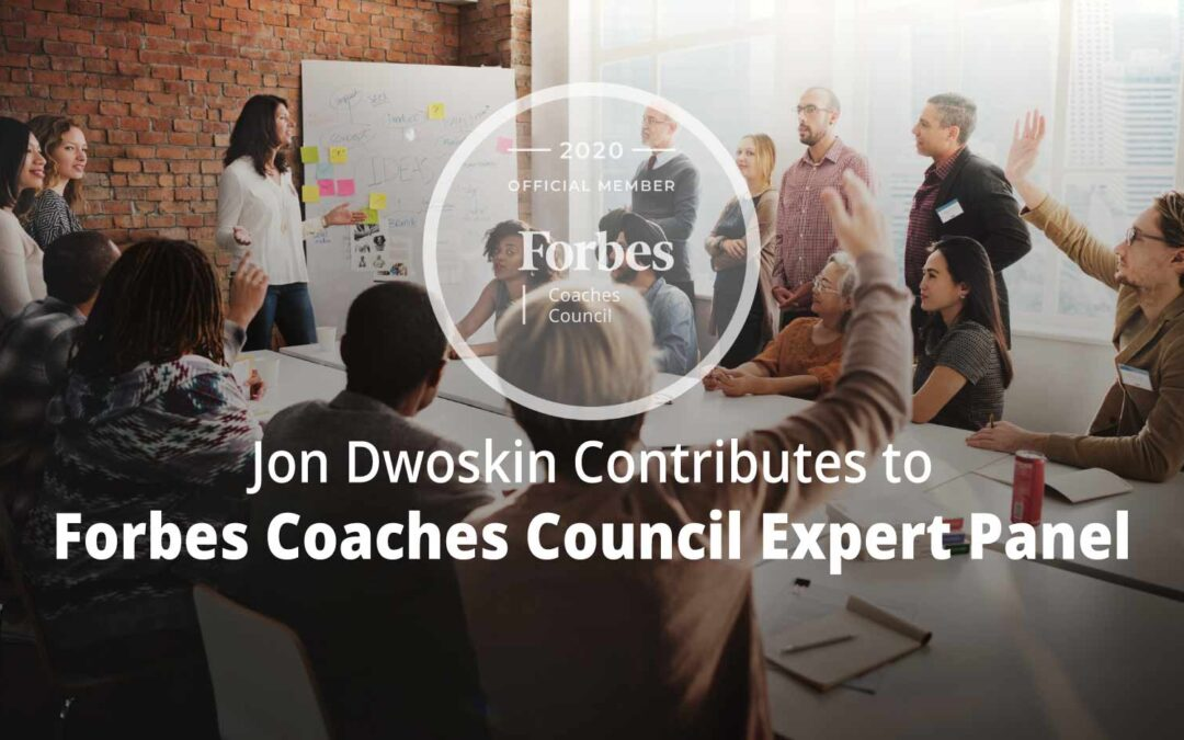Jon Contributes to Forbes Coaches Council Expert Panel: 13 Ways Business Owners Can Encourage Gender Equality Through Company Culture