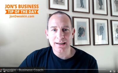 Jon's Business Tip of the Day: 5 Questions to Grow your Business!
