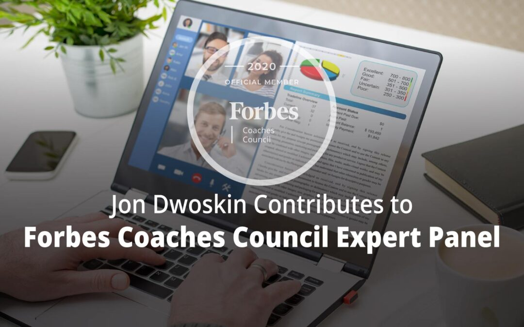 Jon Contributes to Forbes Coaches Council Expert Panel: 14 Ways to Strategically Slow Down Massive Business Growth