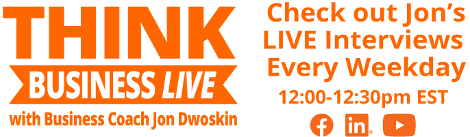 THINK Business Live - Dates and Times Graphic