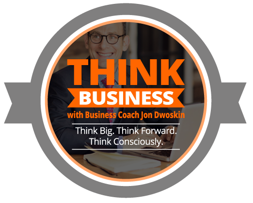 THINK Business Podcast Circle Icon
