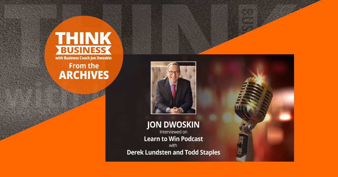 THINK Business Podcast: Learn to Win with Jon