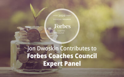 Jon Contributes to Forbes Coaches Council Expert Panel: 13 Recommendations for Funding a New Business