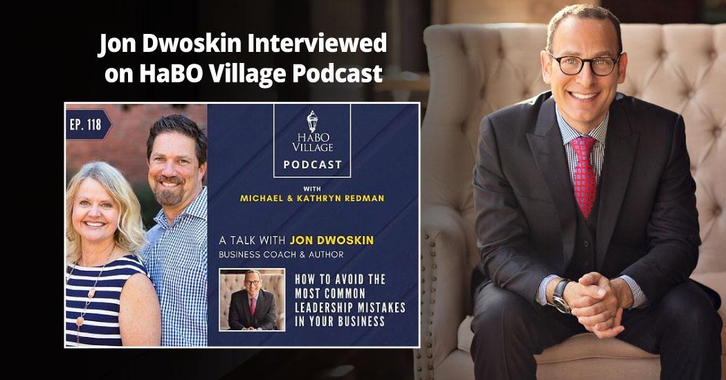 Jon Dwoskin Interviewed on HaBO Village Podcast