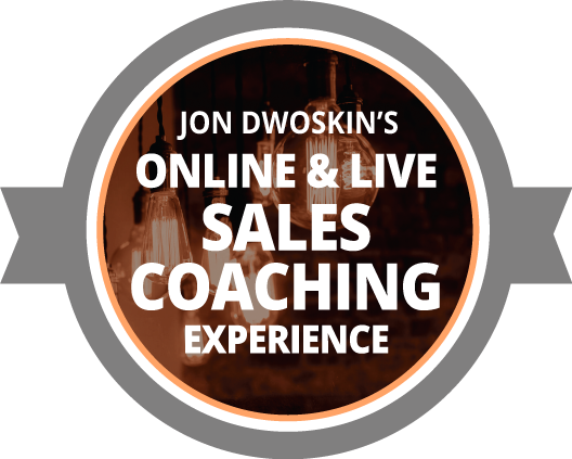 Jon Dwoskin's Sales Coaching Experience icon