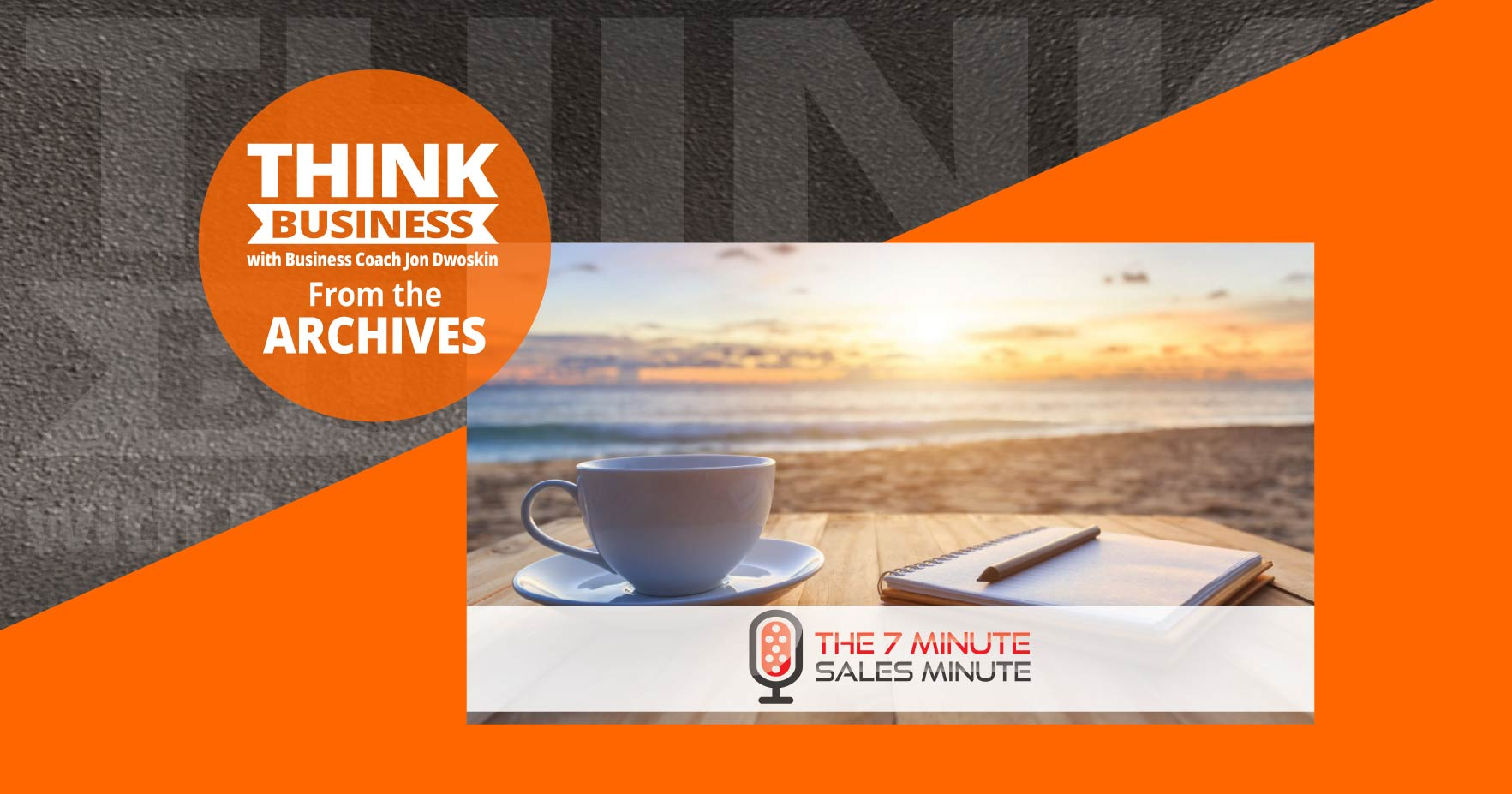 THINK Business Podcast: Daily Rituals to Create Productivity