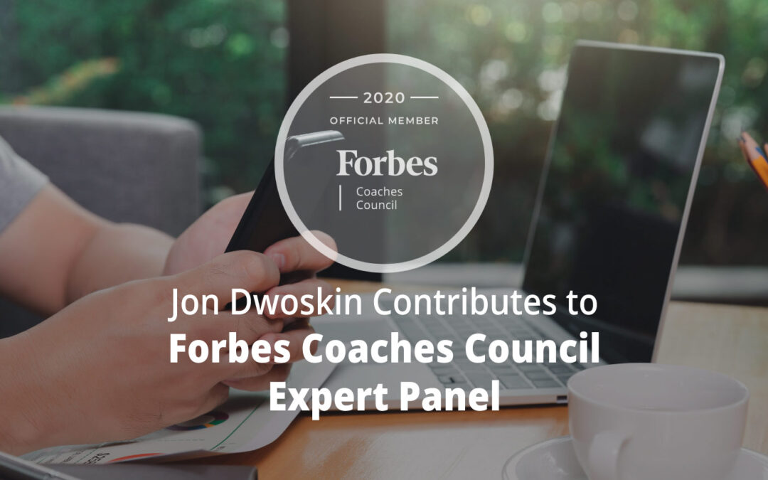 Jon Contributes to Forbes Coaches Council Expert Panel: 12 Inventive Ways To Prepare Branding Strategies To Leverage LinkedIn Trends