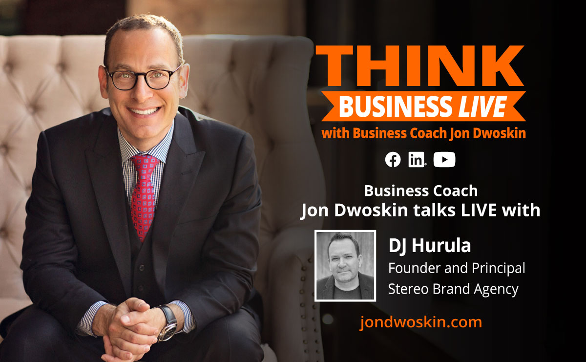 THINK Business LIVE: Jon Dwoskin Talks with DJ Hurula