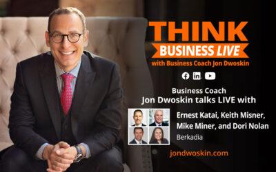 THINK Business LIVE: Jon Dwoskin Talks with Ernest Katai, Keith Misner, Mike Miner, Dori Nolan