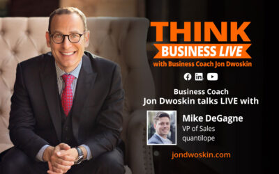 THINK Business LIVE: Jon Dwoskin Talks with Mike DeGagne