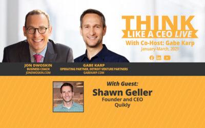 THINK Like a CEO: Jon Dwoskin and Gabe Karp Talk with Shawn Geller
