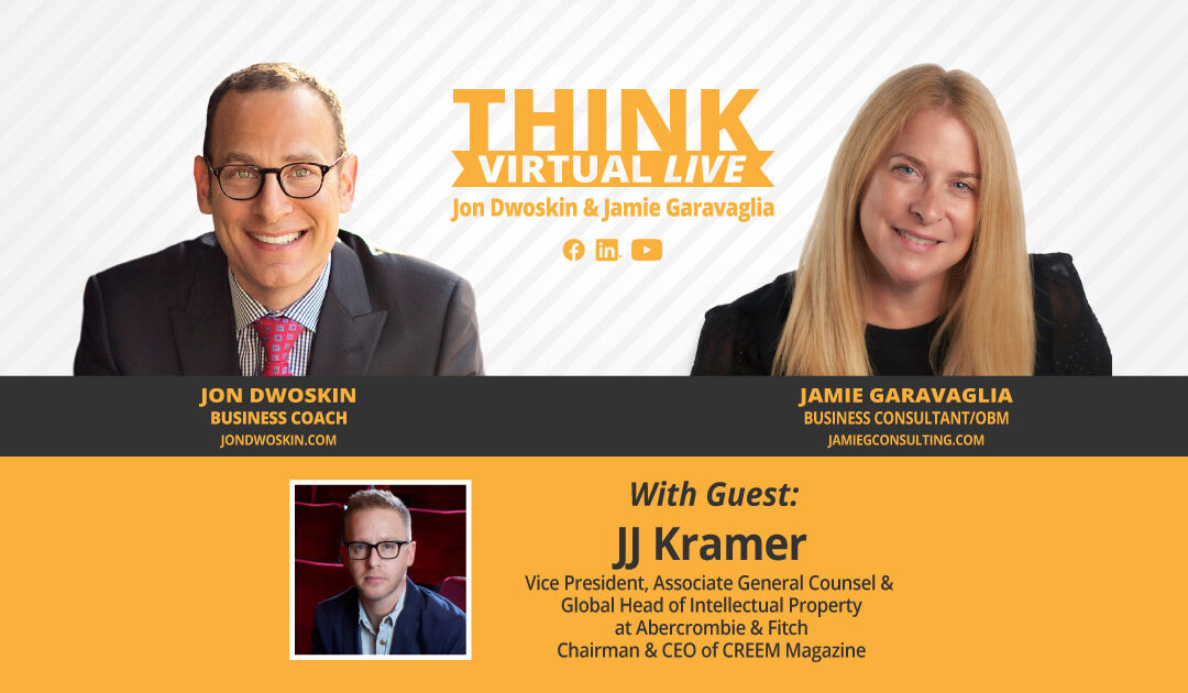 THINK Virtual LIVE: Jon Dwoskin and Jamie Garavaglia Talk with JJ Kramer