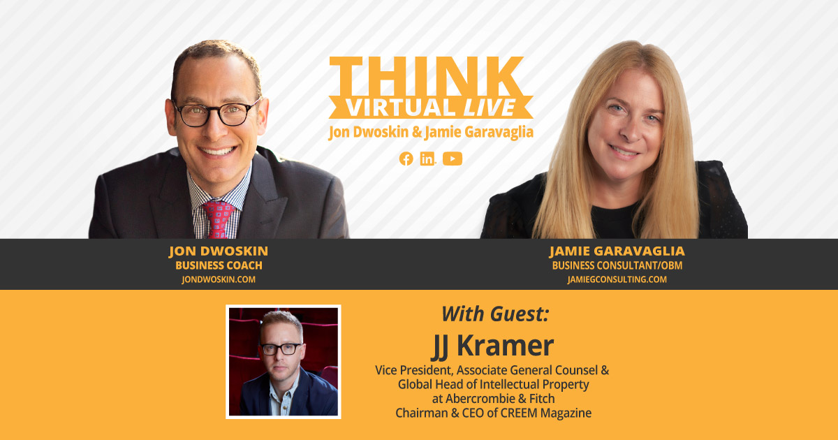THINK Virtual LIVE: Jon Dwoskin and Jamie Garavaglia Talk with JJ Kramer