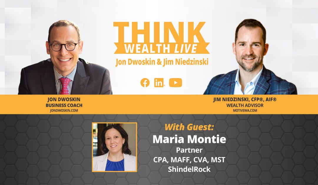 THINK Wealth LIVE: Jon Dwoskin and Jim Niedzinski Talk with Maria Montie