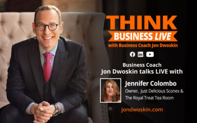 THINK Business LIVE: Jon Dwoskin Talks with Jennifer Colombo