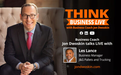 THINK Business LIVE: Jon Dwoskin Talks with Les Lance