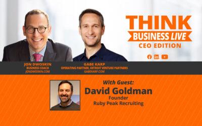 THINK Business LIVE – CEO Edition: Jon Dwoskin and Gabe Karp Talk with David Goldman