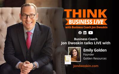 THINK Business LIVE: Jon Dwoskin Talks with Emily Golden