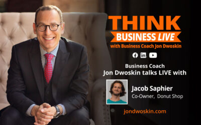 THINK Business LIVE: Jon Dwoskin Talks with Jacob Saphier