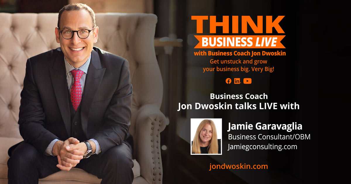 THINK Business LIVE: Jon Dwoskin Talks with Jamie Garavaglia