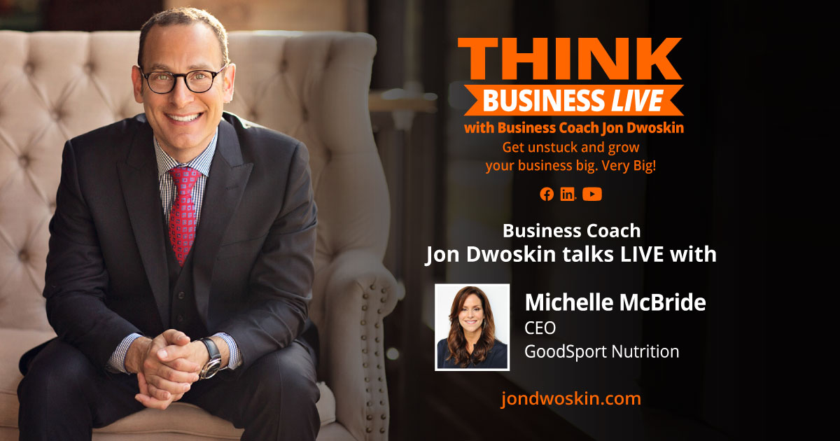 THINK Business LIVE: Jon Dwoskin Talks with Michelle McBride