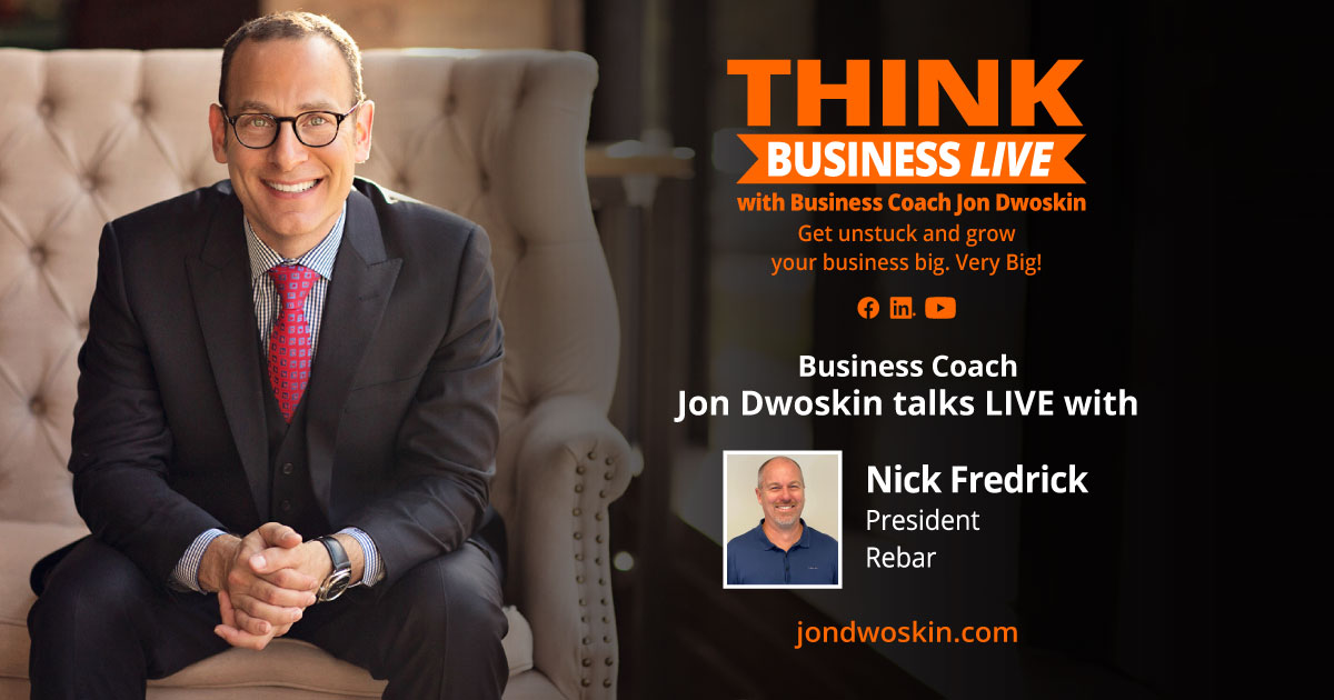 THINK Business LIVE: Jon Dwoskin Talks with Nick Fredrick