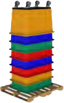 stackable for shipping savings