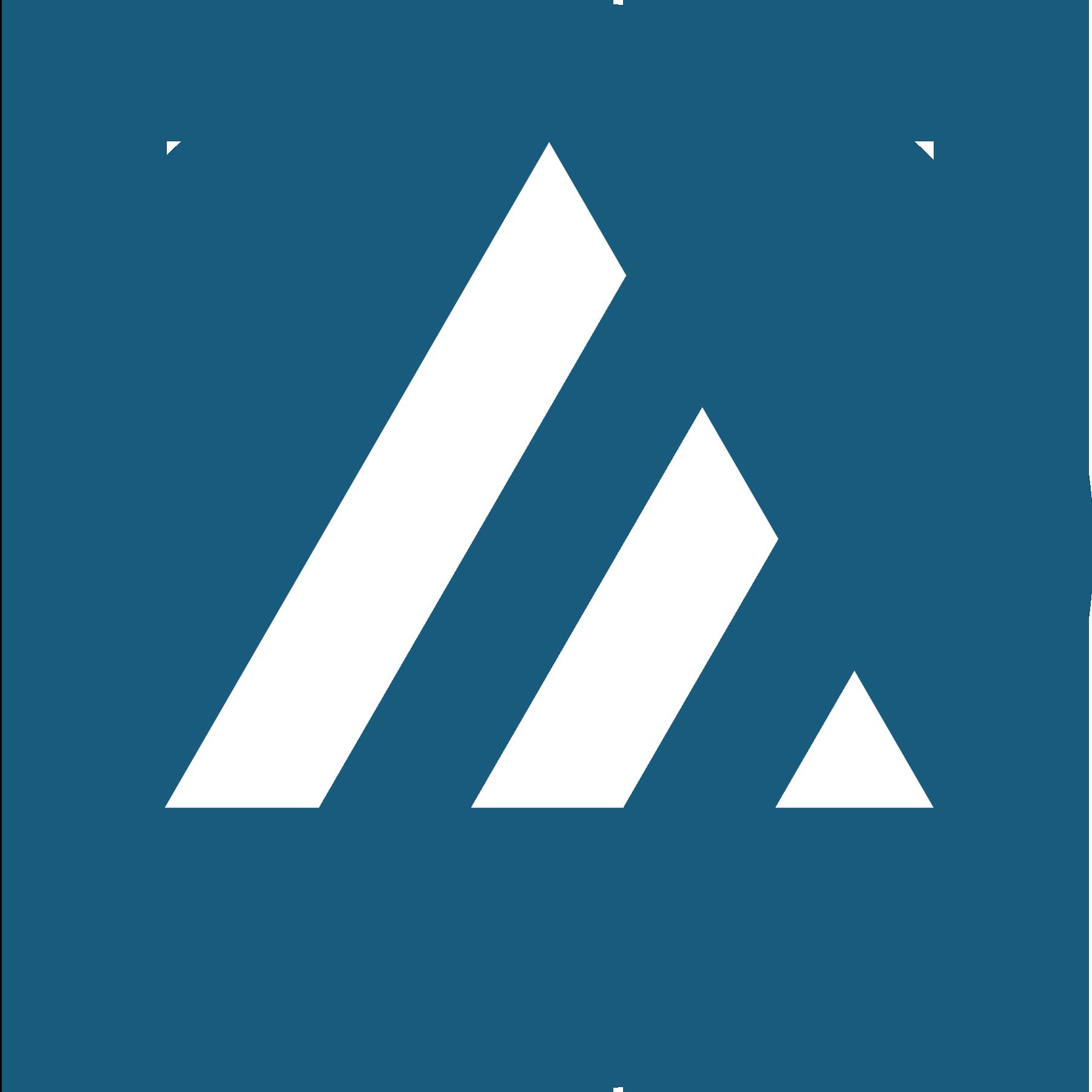 Jomar Logo5 Circle White on Blue