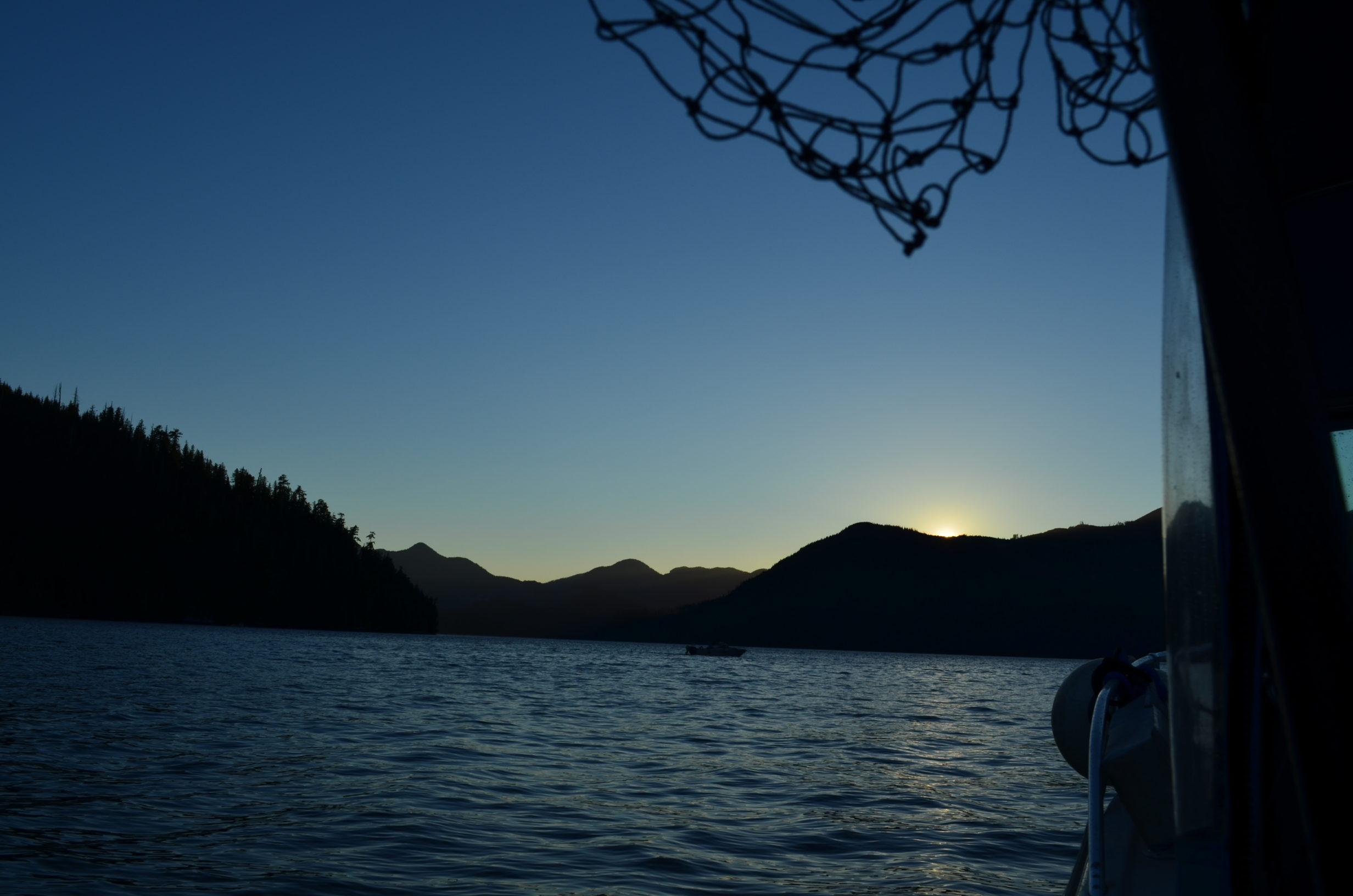 Sunset in Nootka