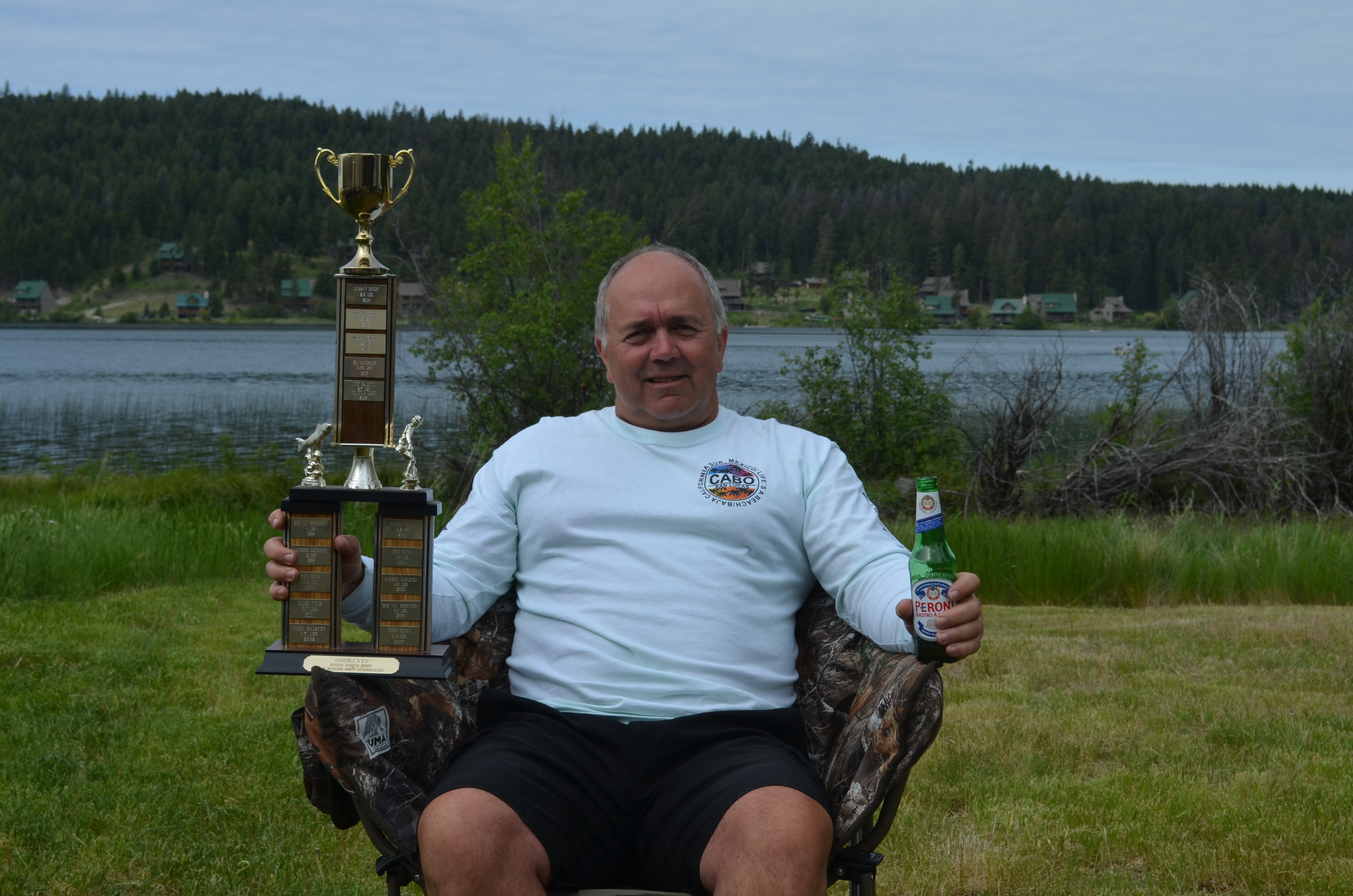 Nick wins, including the great chair from Murray GM Merritt