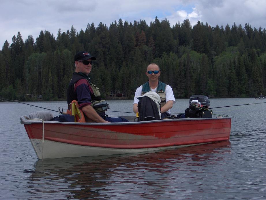 2005 Chrystal Lake - Rob & Ian Boat