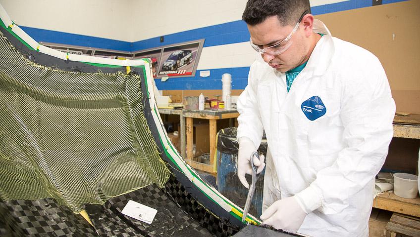 Carbon Fiber Body Panel Manufacturing