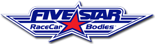 Five Star Race Car Bodies Logo Final