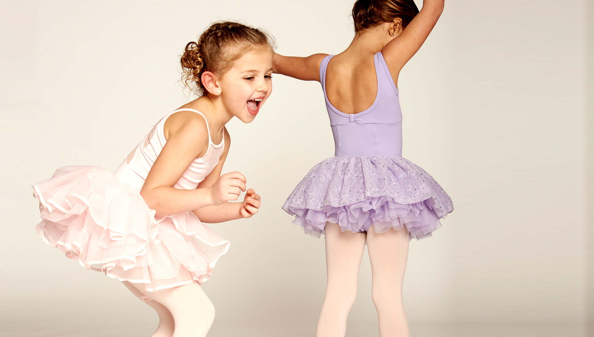 Preschool dancers, dance lessons