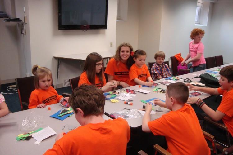 Children at Vacation Bible School 2