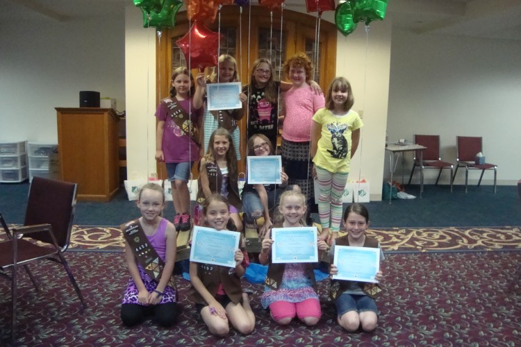 Girl Scouts Awards