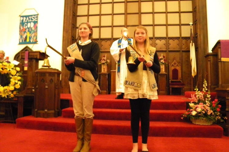 Girl Scouts Acolytes