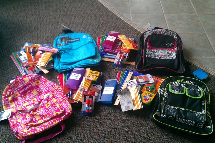 Girl Scouts Backpack Drive