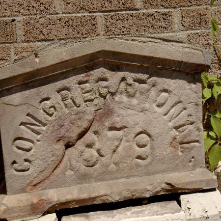 Congregational Church Cornerstone - 1879