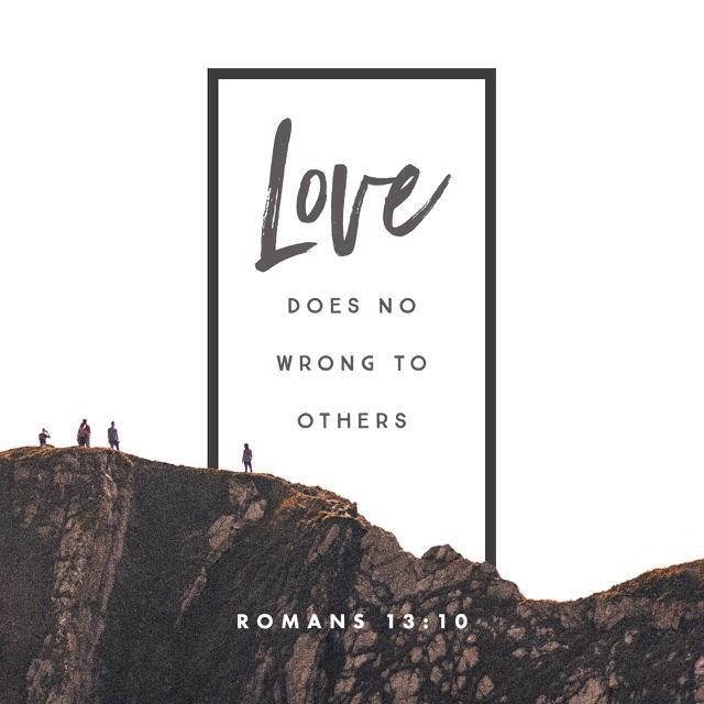 Romans 13, verse 10