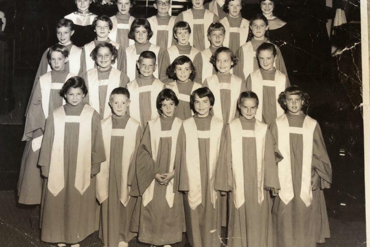 Junior Choir around 1950 - 1960