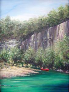 2007-0501 RED CANOE