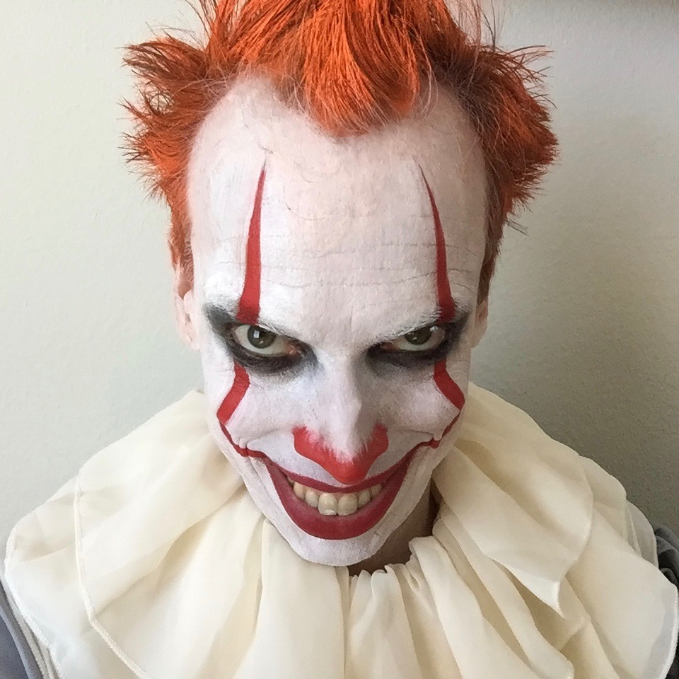 Kevin Keppy as Pennywise in 'IT Chapter 2 Parody'
