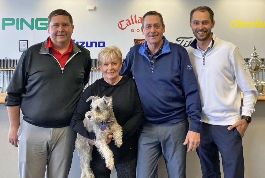 Jon Cornish, Connie & Ken Schall, Sam Rice - Ken Schall Golf