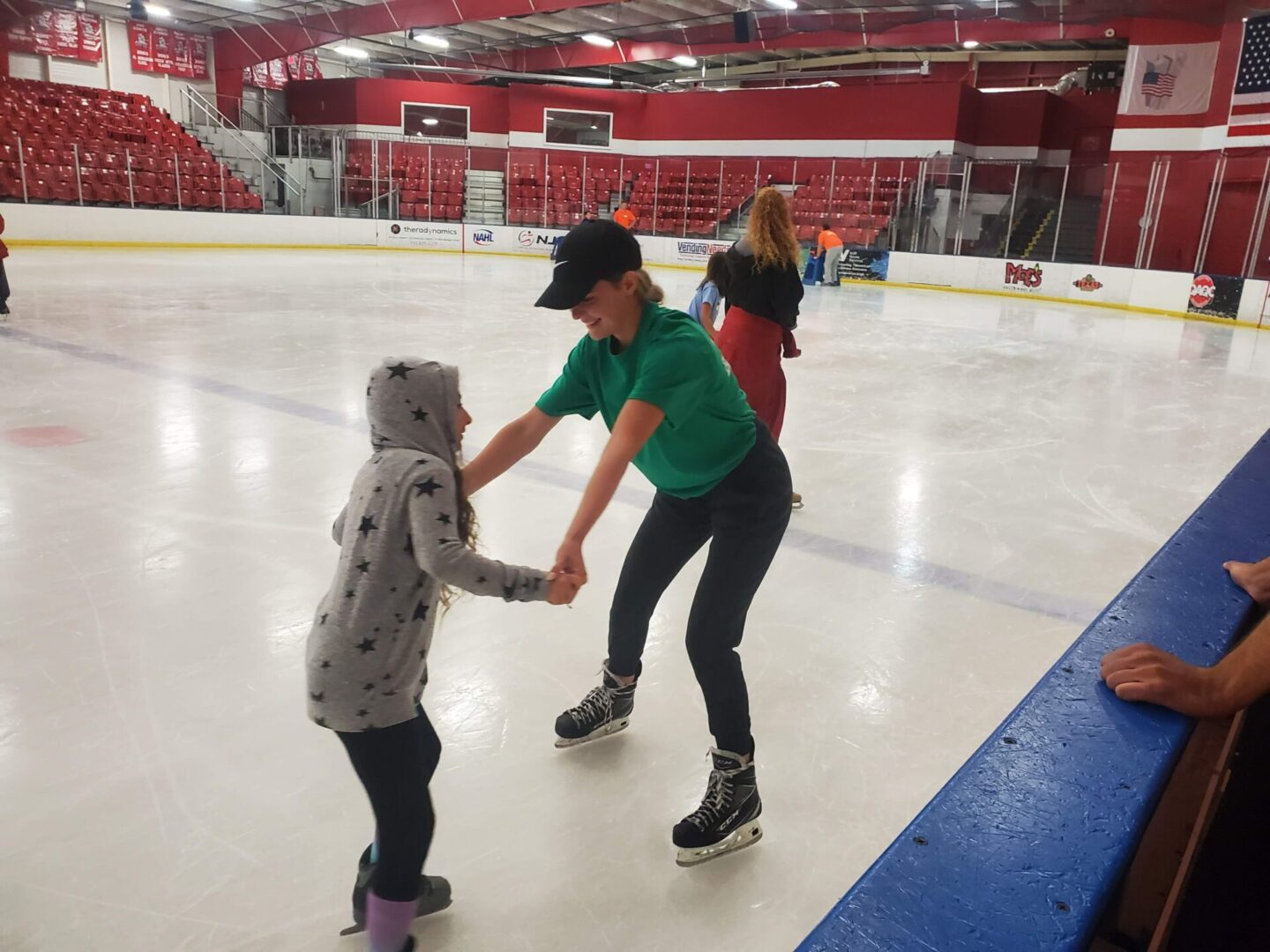 Home Page Empowering Emma and Phoebe on Ice