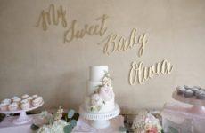 Baby Shower Dessert Table 2