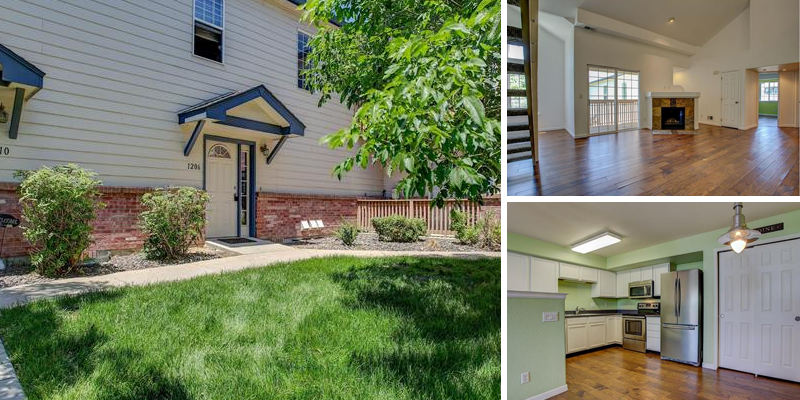 Sold! Spacious Open Floor Townhouse in Northglenn