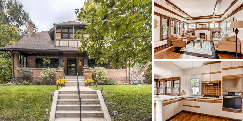 Sold! Wow! Stunning Historic Home in Park Hill!